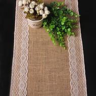 Rectângular Sólido / Textura Toalhas Finas de Mesa , Linho Material Tabela Dceoration / Favor Dinner Decor