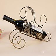 Viinitelineet Valurauta,29*9.5*26CM viini Lisätarvikkeet