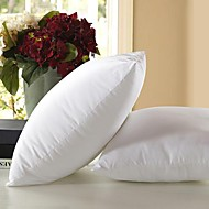 Pure white polyester fiber 45*45cm hold pillow