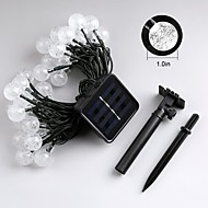 Jiawen 4.5m 30leds 8 modes buiten waterdicht Solar LED lichtslingers