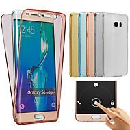 Samsung Galaxy j7 2016 tapauksessa tpu koko kehon suojaava kirkas kansi tapauksessa J1 J2 J3 J5 J7 2016