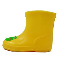 לבנים-מגפיים-PVC-Others נוחות מגפי גשם-צהוב-קז'ואל