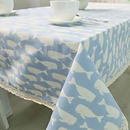 Obdélníkový Se vzorem / Zvíře Ubrusy , Směs bavlny Materiál Tabulka Dceoration / Hotel Jídelní stůl