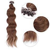 neitsi 20 '' 50g / lot curl faliste wstępnie połączone u końcówek paznokci ludzkich włosów rozszerzenia