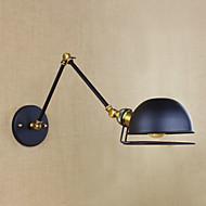 industriell retro europeisk stil landsbyen karakter belysning dekorativ vegglampe jern arm