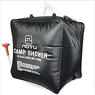 Hiking / Camping / Travel / Outdoor Convenient PVC Black