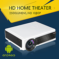 LED-96+WIFI LCD Domácí kino Projektor WXGA (1280x800) 2500 LED 4:3 16:9 16:10