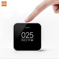 eredeti Xiaomi PM2,5 érzékelő szenzor a levegő minőségének ellenőrzésében nagy pontosságú lézeres érzékelő OLED kijelző