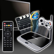 x6 android 4.4 Smart TV box (wifi, blue-tooth, lan, usb, hdmi, tf)