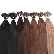 neitsi 20 '' 25g / erä 1 g / s nano rengas kallistuu suorat ihmisen hiusten pidennykset