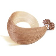 neitsi 20 '' 50g / lot 1g / s ombre pré clou collé u Astuce fusion extensions de cheveux humains 100% remy t27 / 60 #