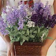 Drát Světle modrá Umělé květiny