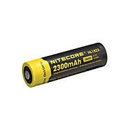 nitecore nl1823 2300mAh 3.7v 8.5wh bateria recarregável 18650 li-ion