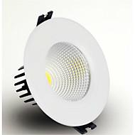 7W לד  Downlights מובנה COB 600-700 lm לבן חם / לבן קר AC 85-265 V חלק 1