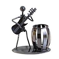 Display Model Cylinder-formet Musik Instrumenter Nyhed Drenge Pige Metal 1