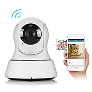 1.0 MP Mini Indoor with Päivä yö / IR-suodatin 64(Day Night / Motion Detection / Remote Access / IR-leikkaus / Wi-Fi Protected Setup /