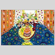 Ručně malované Zátiší Květinový/Botanický motiv Olejomalby + tisky,Klasický Moderní Jeden panel Plátno Hang-malované olejomalba For Home