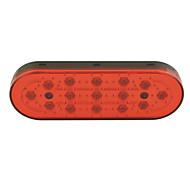 Car Auto 15-LED Brake Lamp Stop Parking Emergency Safety Warning Light-Red Light(1PCS)