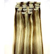 22 # 6/613 Remy Haarverlängerung Typ Menschenhaarverlängerungen Material Stil Einheit Gewicht (80g)