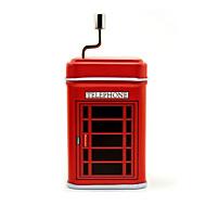 Music Box טירת in the Sky מתוק / מיוחד / יצירתי מתכת כסוף לבנים / לבנות