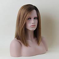 Novi modni srednje dužine capless perika prirodno ravnu ljudsku Ombre kosu