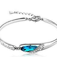 Femme Chaînes & Bracelets Cristal Argent sterling Naturel Bleu Bijoux 1pc