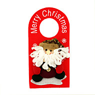 קישוטים לא דלוק דמויות חג נייר קישוט חג המולד