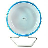 Rágcsálók Csincsillák Hasizom kerék Műanyag Kék