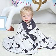 Tricotado Como na Imagem,Estampado Desenhos Animados Algodão / Poliéster cobertores S:75*100cm M:100*130cm