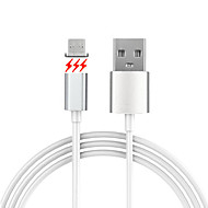 USB 2.0 Micro USB 2.0 Magnétique Câble Pour Samsung Huawei Sony Nokia HTC Motorola LG Lenovo Xiaomi 150 cm PVC Aluminium