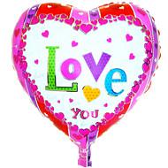 héliumballon nagykereskedelmi alufóliával léggömb szerető esküvői dekoráció ----- cy alumínium fólia szív alakú szeretlek