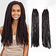 Haakwerk Dread Locks Hair Extensions 18 Kanekalon 20 Strand 90 gram haar Vlechten