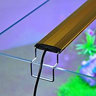 Aquarium Eclairage LED Blanc Bleu Ajustable Lampe à LED AC 100-240V