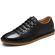 Men's Shoes Casual Loafers Black /White/Orange