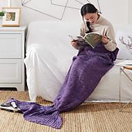 TricotadoFios Tingidos Sólido 100% Acrílico cobertores