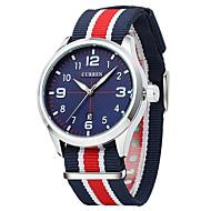Ryan CURREN 8195 Canvas Strap Fashion Watches