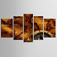 Canvas Set Abstract Beroemd Stijl Klassiek,Vijf panelen Canvas Elke vorm Print Art wall Decor For Huisdecoratie