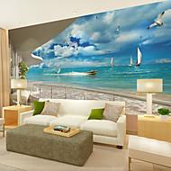 Art Deco 3D Behang voor thuis Modern Behangen , Canvas Materiaal lijm nodig Muurschildering , Kamer wandbekleding