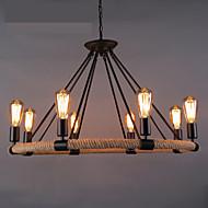 샹들리에 ,  러스틱 페인팅 특색 for LED 디자이너 금속 거실 주방 학습 방 / 사무실 입구 현관
