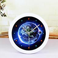 créatif horloge terrestre horloge de bureau bureau réveil horloge de table maison créative mode décorative montres muets