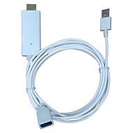 measy i8 iphone video obrazovky na HDMI pro iPhone 5 / 5s / 5c / 6 / 6s / 6 plus / 7 / 7plus ipad obrazovka telefonu na televizoru HDMI