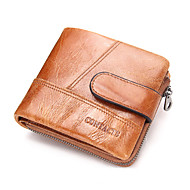 Men Wallet Cowhide Sports Casual Outdoor Shopping