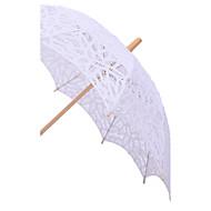 """Svatba Krajka Deštník rovná rukojeť 96 cm (cca 37,8"""")"""