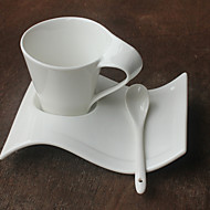Hverdags-drikkeredskaper Nyhet Drikkeredskaper Tekopper Vannflasker Kaffekrus Te & Varm Drikke 1 Keramikk, -  Høy kvalitet