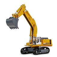 רכב בנייה צעצועים צעצועים רכב 1:87 מתכת ABS פלסטיק לבן צעצוע בניה ודגם