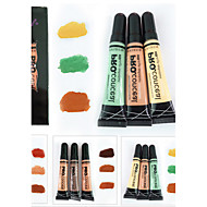 3Pcs/Lot Girl Concealer  High Definition Face  Makeup Base Contour Foundation Concealer Cream