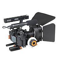 yelangu populäre DSLR-Kamera Käfig Schulter-Rig Kit c500 enthalten Fokus Mattebox Unterstützung Universalkameras folgen