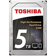 "Toshiba 5 TB Desktop Hard Disk Drive 7200rpm SATA 3.0 (6 Gb / s) 128 MB Mezipaměti 3,5""-HDWE150"