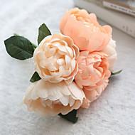 1 Gren Silke Peoner Bordblomst Kunstige blomster 24*24*27