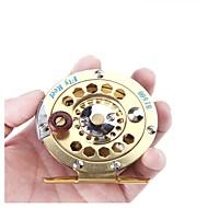 リール 穴釣りリール 穴釣りリール フライリール 1:1 1 ボールベアリング 右利きの フライフィッシング 穴釣り その他 一般的な釣り-HB600 HiUmi